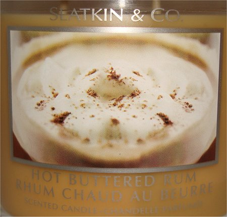 Slatkin & Co. Hot Buttered Rum Scented Candle Review & Pictures