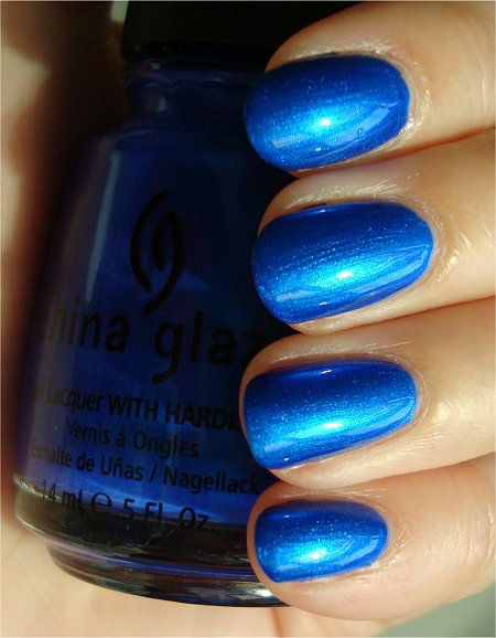 Sunlight China Glaze Frostbite Swatches & Review
