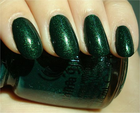 Sunlight China Glaze Glittering Garland Review & Swatch