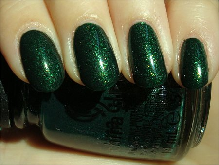 Sunlight China Glaze Glittering Garland Swatch & Review