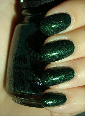 Sunlight China Glaze Glittering Garland Swatches & Review