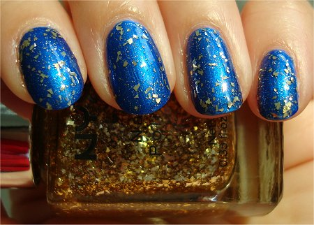 Sunlight Glided Glitter NYX Girls Swatch & Review