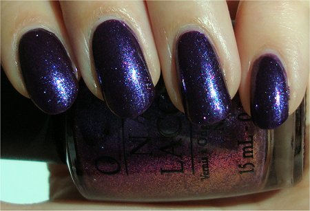 Sunlight Grape...Set...Match OPI Swatches & Review