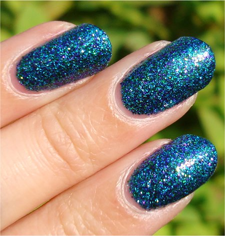 Sunlight Nicole by OPI Kendall on the Katwalk Swatch & Review