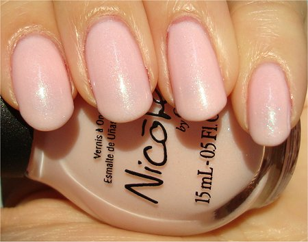 Sunlight Nicole by OPI Kim-pletely in Love Swatch & Review