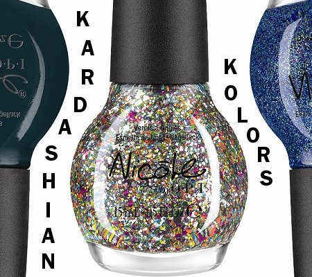 Swatch And Learn Nicole by OPI Kardashian Kolors Collection Press Release & Promo Pictures