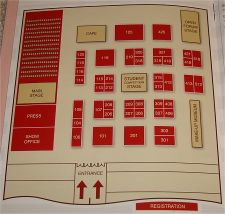 Toronto Congress Centre Floor Plan