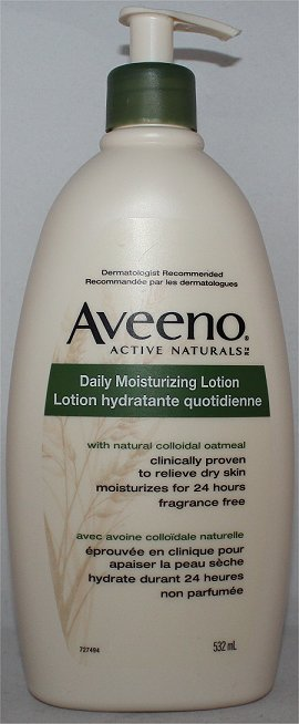 Aveeno Daily Moisturizing Lotion Review & Pictures