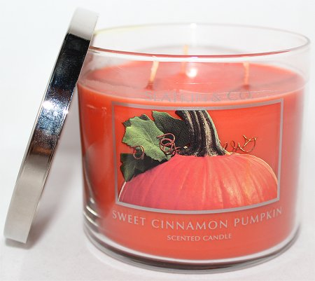Bath & Body Works Sweet Cinnamon Pumpkin Review & Pictures Slatkin & Co. Candles