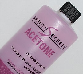 Beauty Secrets Acetone Nail Polish Remover Review & Pictures Sally Beauty Supply smaller