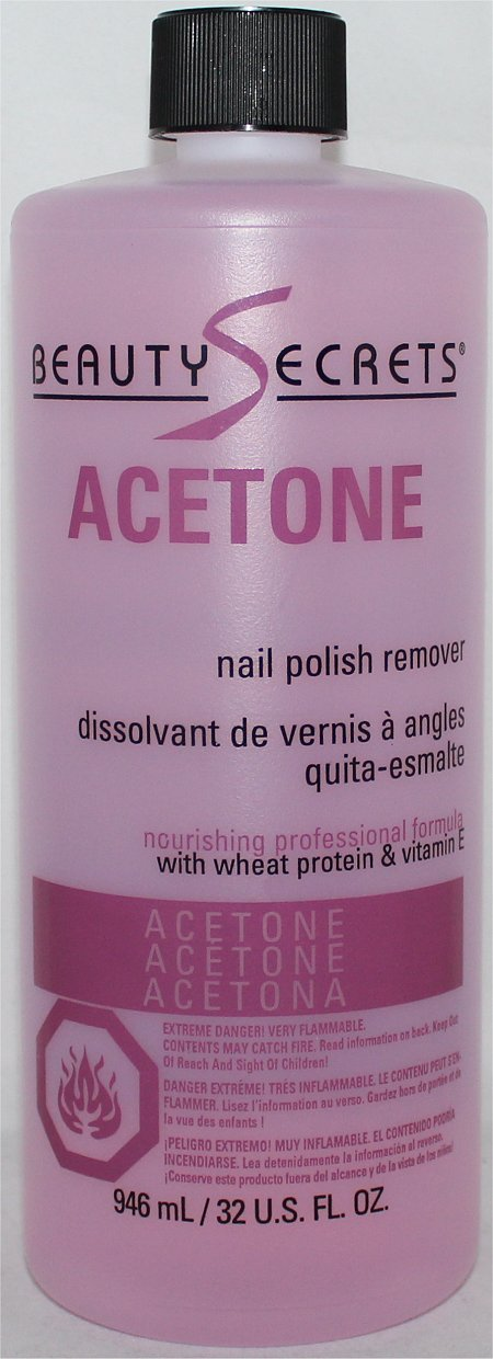 Beauty Secrets Acetone Nail Polish Remover Review & Pictures Sally Beauty Supply