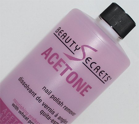 Beauty Secrets Acetone Nail Polish Remover Review & Pictures