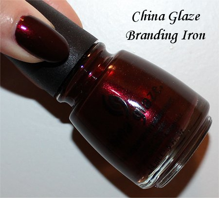China Glaze Branding Iron Review & Swatch