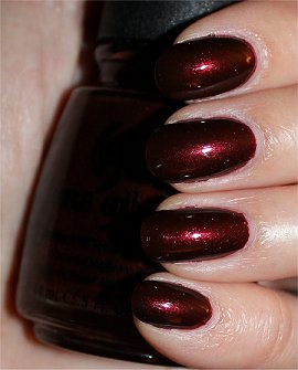 China Glaze Branding Iron Swatches & Review