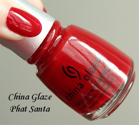 China Glaze Phat Santa Bottle Pictures