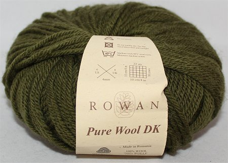 Christmas Knitting Project Using Rowan Pure Wool DK Yarn
