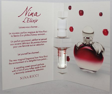 December Luxe Box Loose Button Nina Ricci Nina L'Elixir