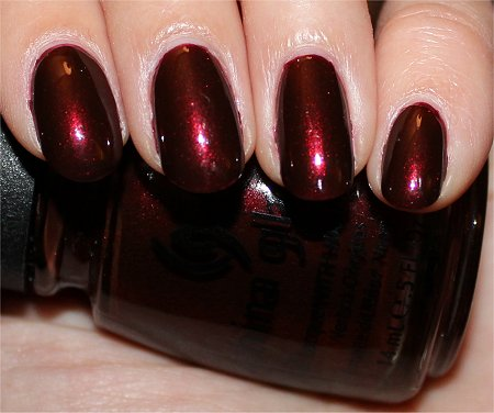 Flash Branding Iron by China Glaze Swatches & Review