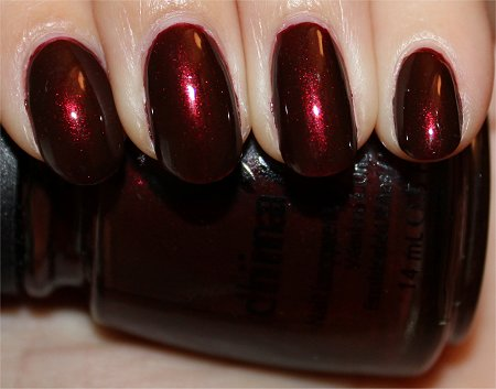 Flash China Glaze Branding Iron Swatches & Review