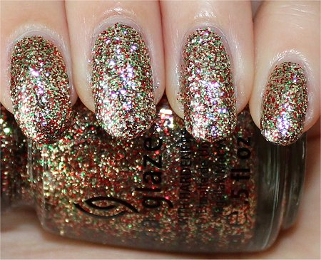 Flash China Glaze Twinkle Lights Swatch & Review