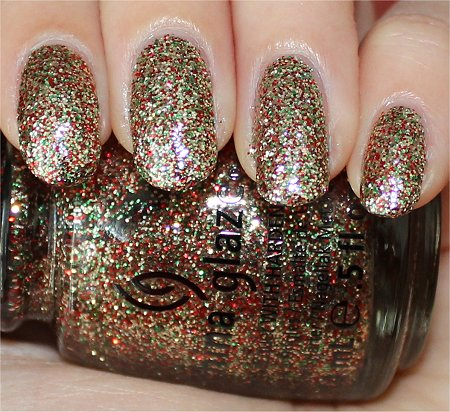 Flash China Glaze Twinkle Lights Swatches & Review