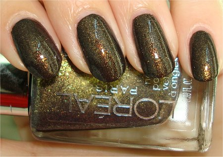Flash L'Oreal Owl's Nite Swatch & Review