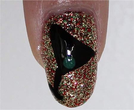 Flash New Years Nails Tutorial