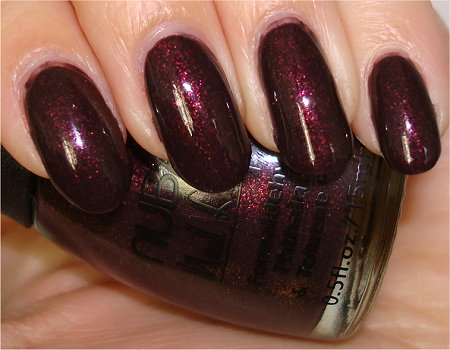 Flash Nubar Chocolate Truffles Collection 2009 Raspberry Truffle Swatch & Review