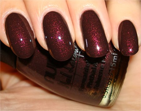 Flash Nubar Chocolate Truffles Collection Raspberry Truffle Swatch & Review