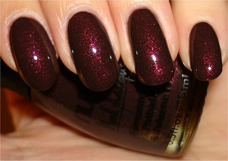 Flash Nubar Chocolate Truffles Collection Swatches & Review Raspberry Truffle Swatch