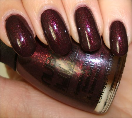 Flash Nubar Nail Polish Review & Swatches Raspberry Truffle Pictures