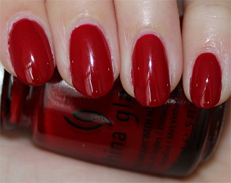 Flash Phat Santa China Glaze Review & Swatches
