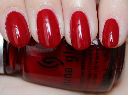 Flash Phat Santa China Glaze Swatch & Review