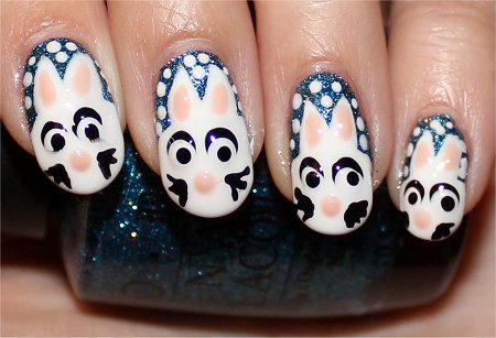 Flash Rabbit Nail Art Tutorial & Swatch