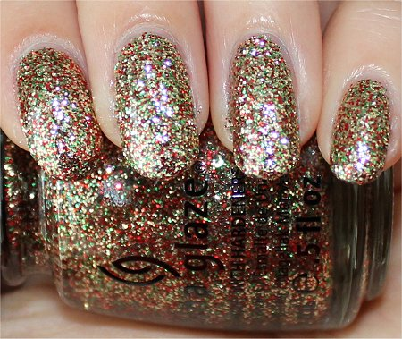 Flash Twinkle Lights China Glaze Swatches & Review