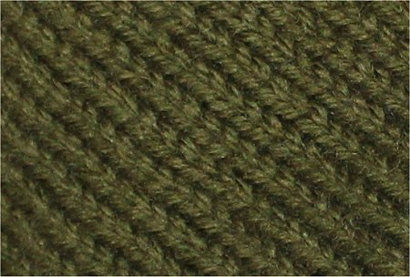 Handmade Green Knitted Hat Close-up
