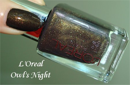L'Oreal Owl's Night 290 Review, Pictures & Bottle Pics