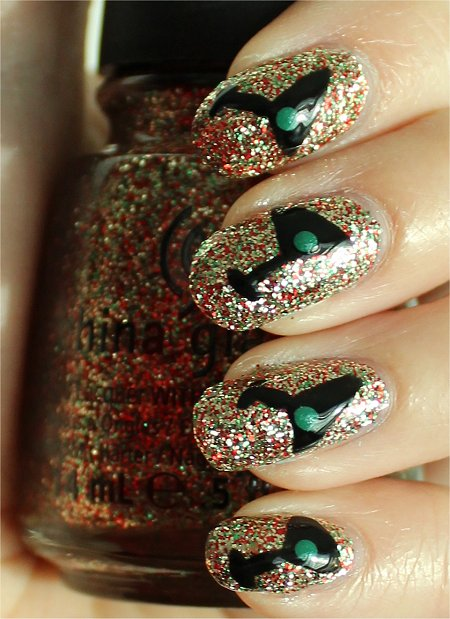 Martini Nails Nail Art Tutorial & Pictures