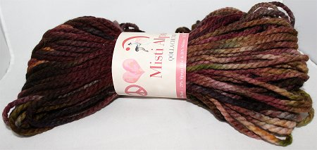 Misti Alpaca Qolla Chunky Yarn for Knitting Christmas Scarf Project
