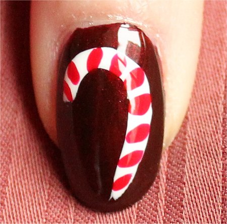 Natural Light Candycane Nails Nail-Art Tutorial & Swatch