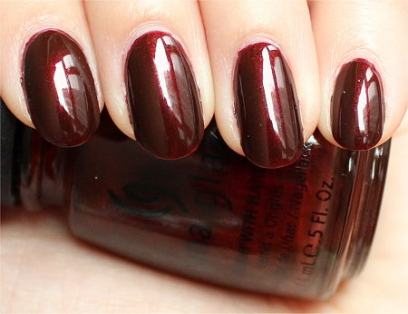 Natural Light China Glaze Branding Iron Review & Swatches