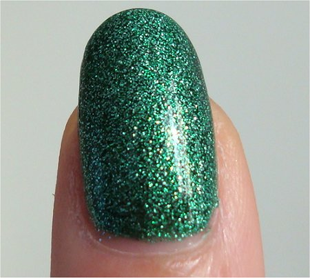 Natural Light China Glaze Holiday 2010 Collection Mistletoe Kisses Swatch & Review