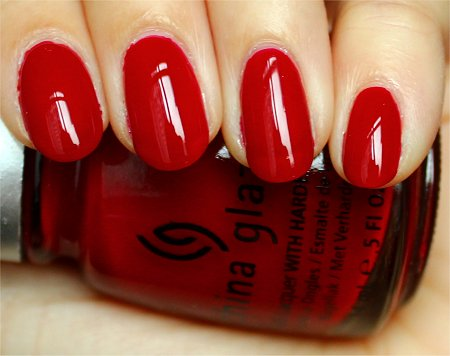 Natural Light China Glaze Phat Santa Review & Swatch
