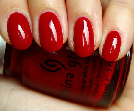 Natural Light China Glaze Phat Santa Swatch & Review