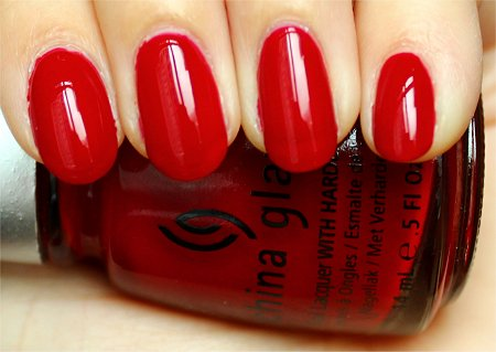 Natural Light China Glaze Phat Santa Swatches & Review