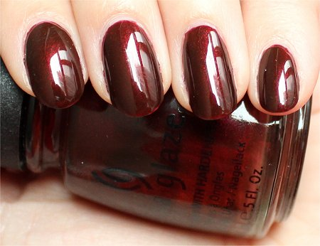 Natural Light China Glaze Rodeo Diva Collection 2008 Swatches & Review Branding Iron