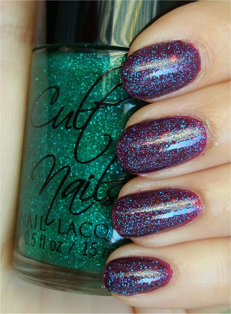 Natural Light Cult Nails Hypnotize Me Swatch & Review Cult Nails Iconic Swatch & Review