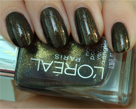 Natural Light L'Oreal Owl's Nite Swatch, Review & Pictures