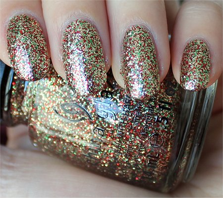Natural Light Twinkle Lights China Glaze Let It Snow Collection 2011 Swatches & Review