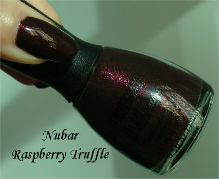 Nubar Raspberry Truffle Bottle Pics & Review